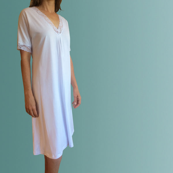 Hayman Winter Nightgown White