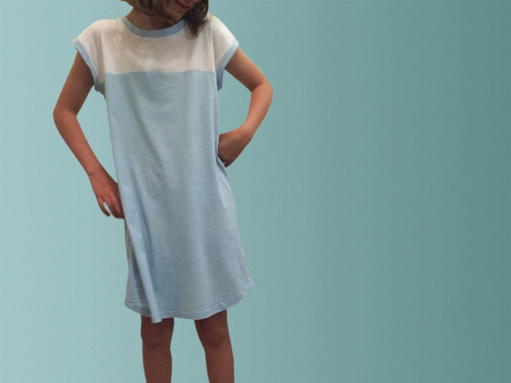 Organic children's sleepwear. Organic gifts Australia. Australia made clothing. Made from soft, organic cotton fabric. Organic cotton children's clothing. Organic cotton children's nightgowns.