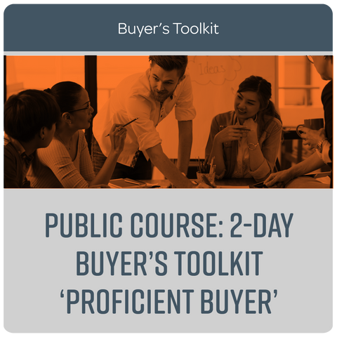 Public Course: 2-Day Buyer's Toolkit