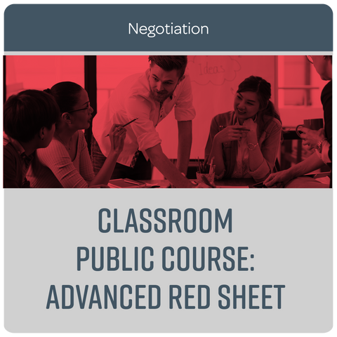 Public Course: Advanced Red Sheet® - October 2020