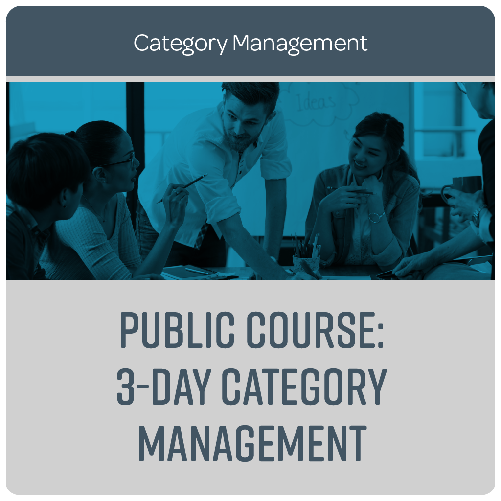 Public Course: 3-Day Category Management