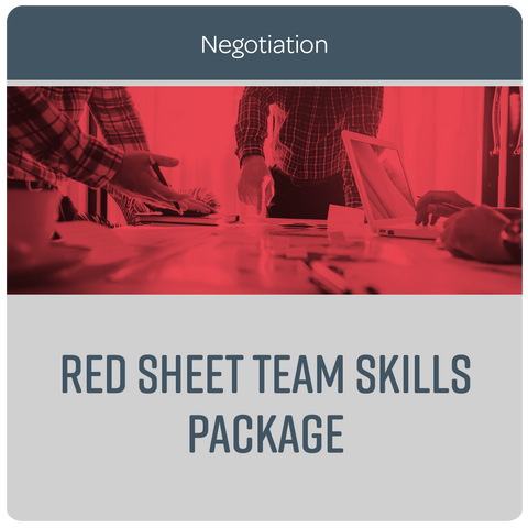 Red Sheet® Team Skills package