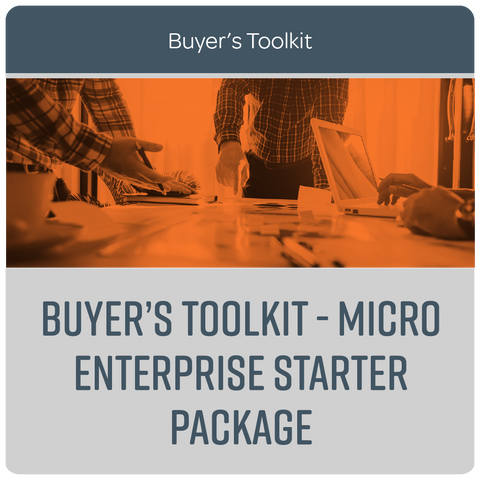 Buyer's Toolkit - Micro Enterprise Starter Package