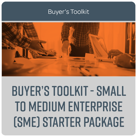Buyer's Toolkit - Small to Medium Enterprise (SME) Starter Package