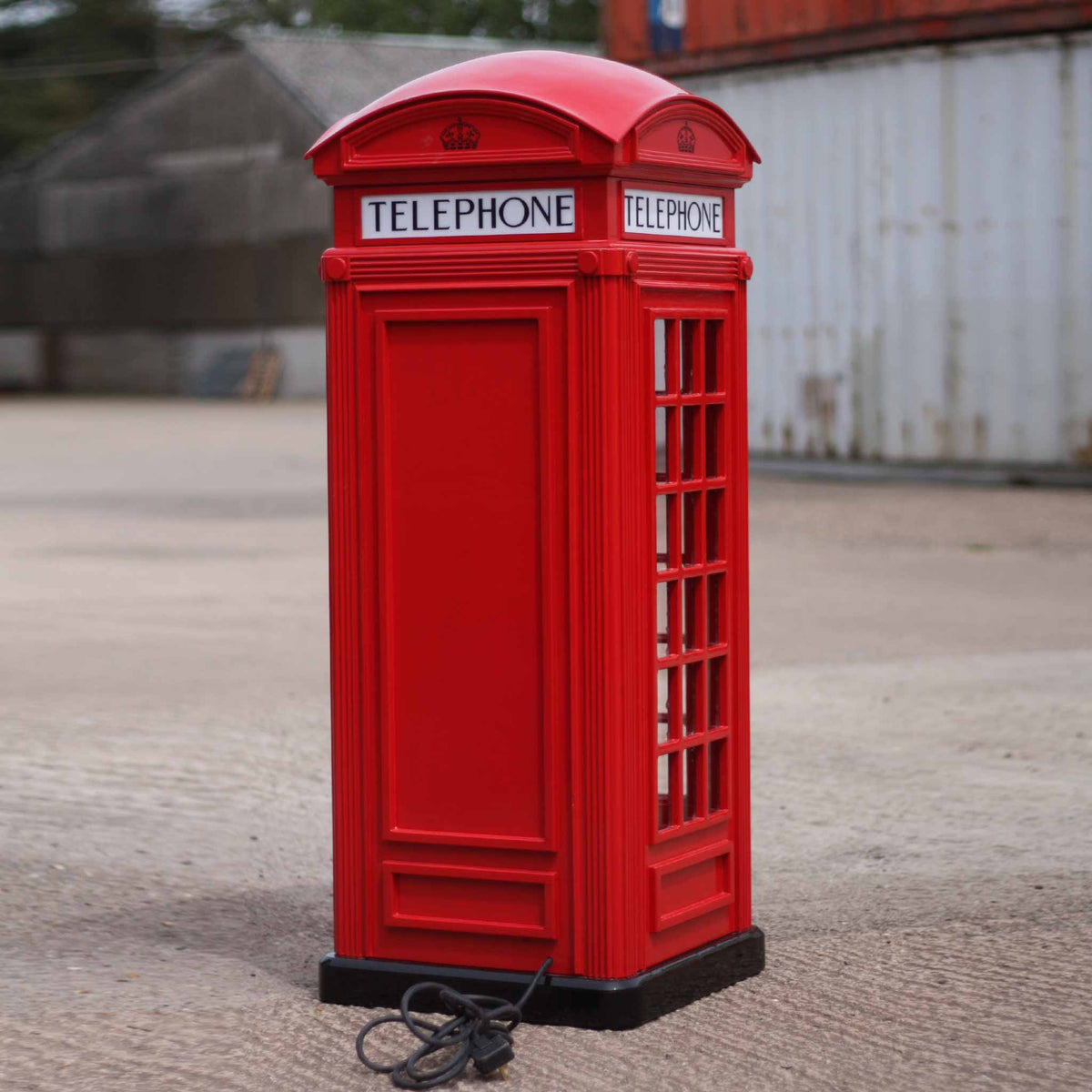British Red Telephone Box (Half scale)