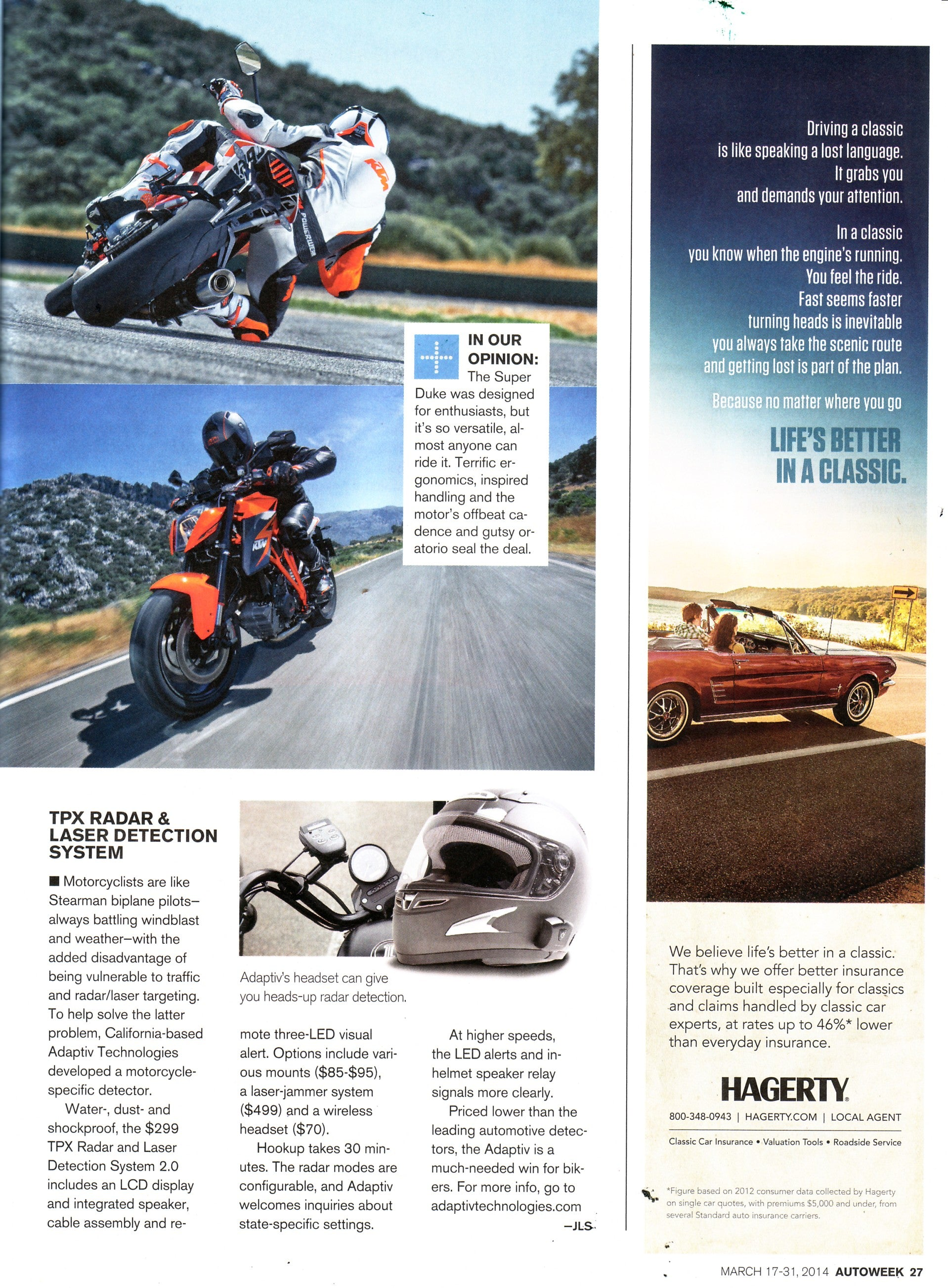 Autoweek Magazine March 2014
