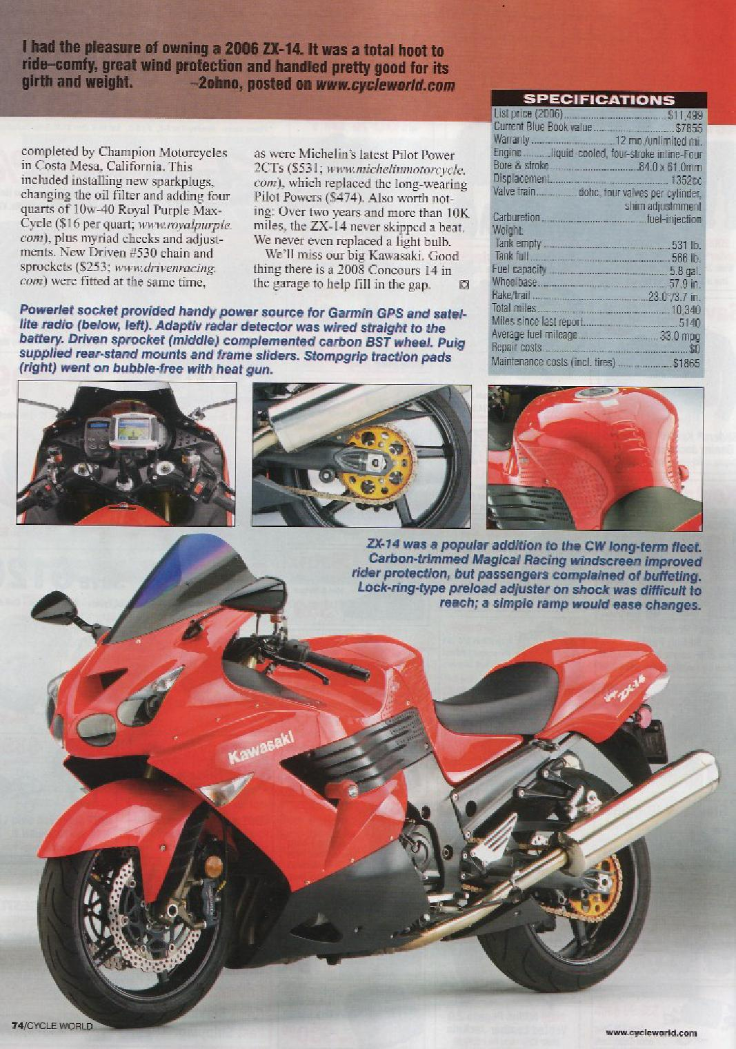 CycleWorld Magazine April 2009 - page 2