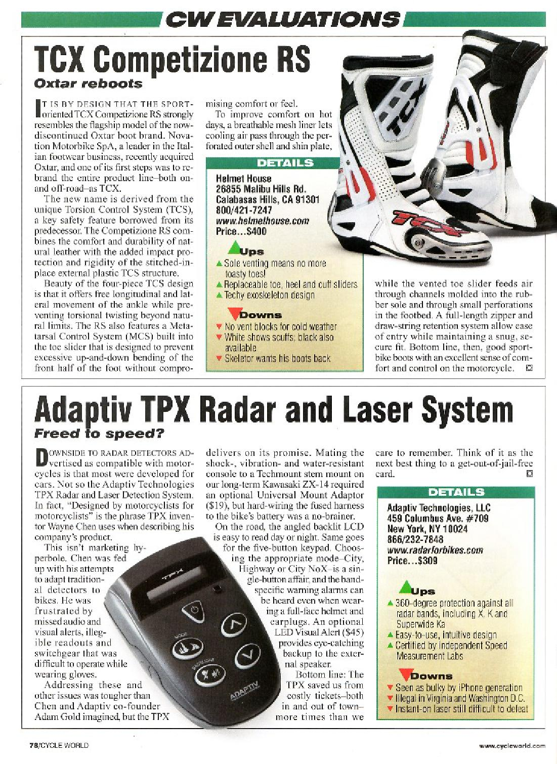CycleWorld Magazine October 2008 - page 1