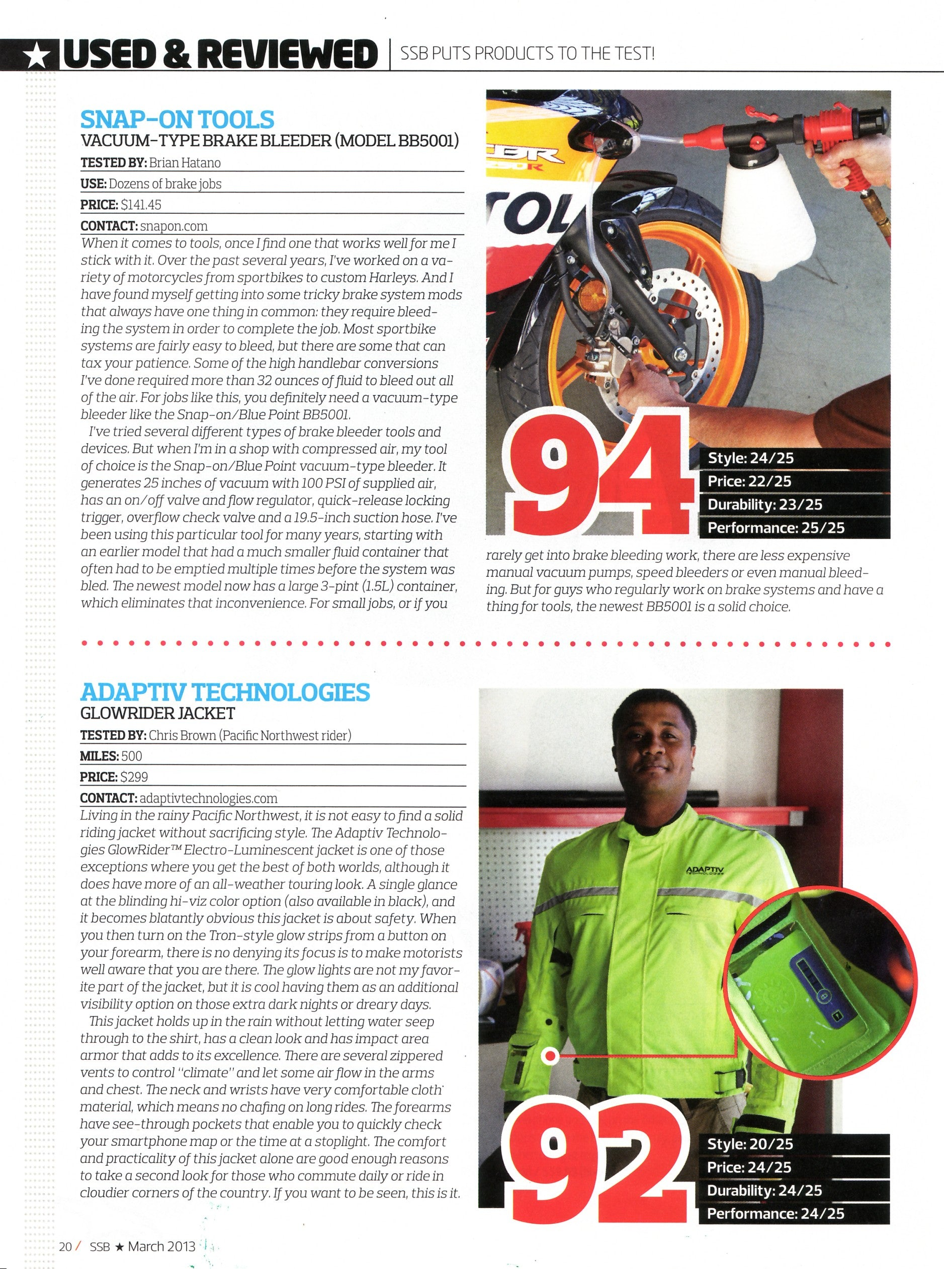 Super StreetBike Magazine March 2013