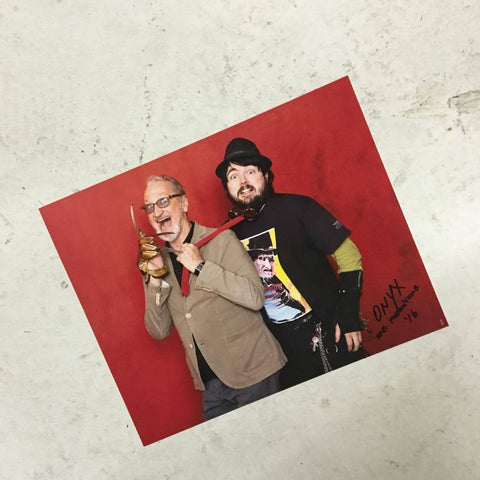 SALE! Onyx the Fortuitous and Robert Englund Professional Signed Photo