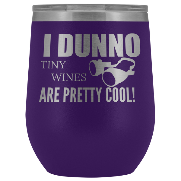 Tiny Wines - 12 oz Wine Tumbler