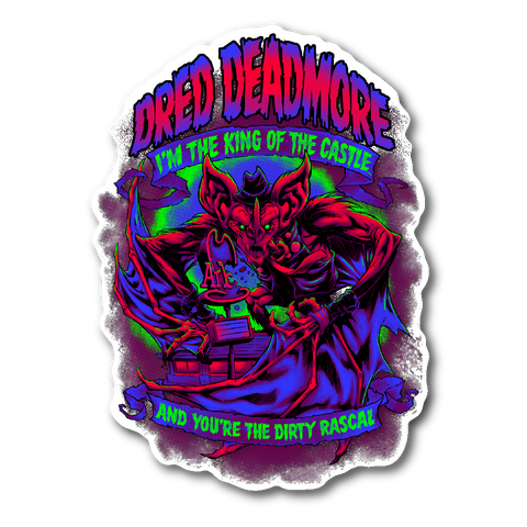 Dred Deadmore - Die-cut Sticker