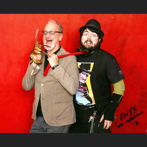 Onyx the Fortuitous and Robert Englund Professional Signed Photo