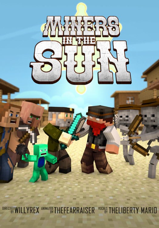 "Póster ""Miners in the sun"" - Willyrex"