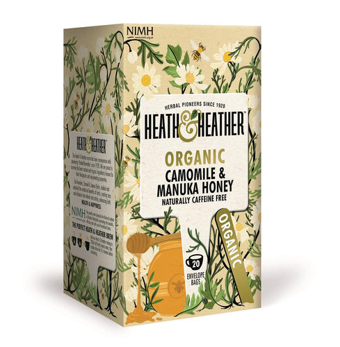 Org Camomile & Manuka Honey 20 Bag