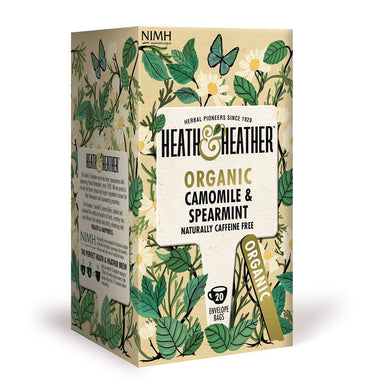 Organic Camomile & Spearmint 20 Bag