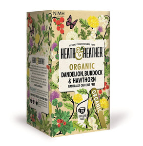 Org Dandelion, Burdock & Hawth 20 Bag