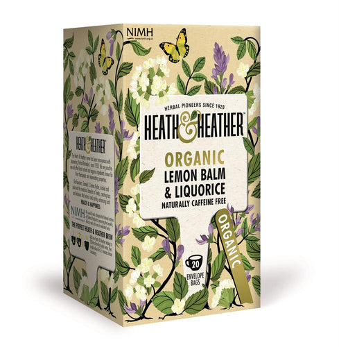 Organic Lemon Balm & Liquorice 20 Bag