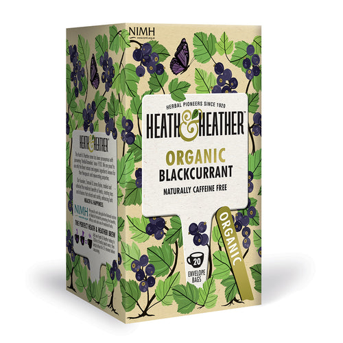 Organic Blackcurrant 20 Bag