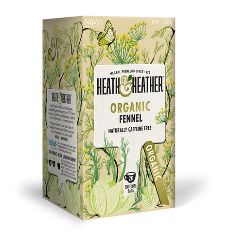 Organic Fennel 20 Bag