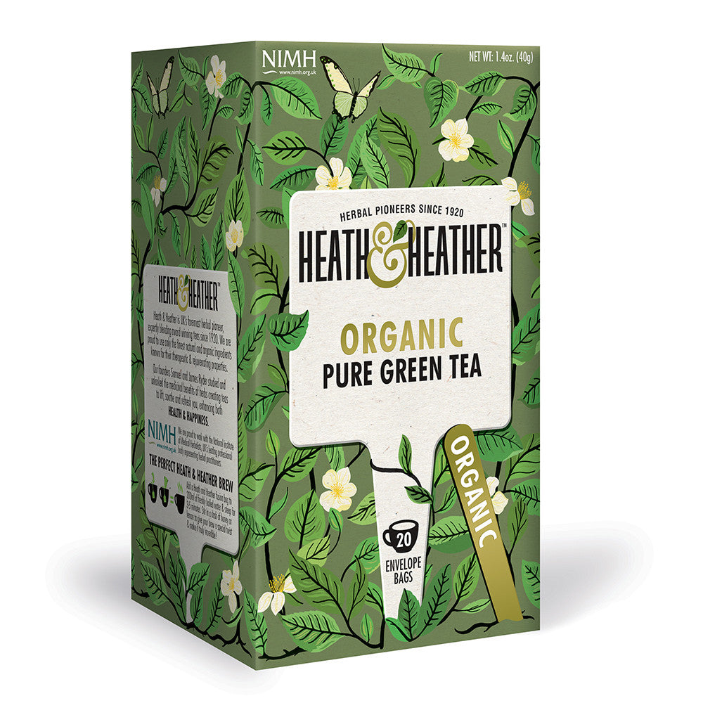 Organic Pure Green Tea 20 Bag