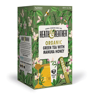 Organic Green Tea with Manuka Honey 20 bags