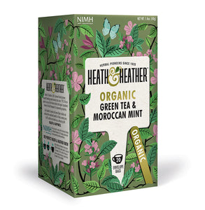 Organic Green Tea with Moroccan Mint 20 bags