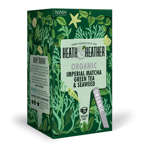 Organic Imperial Matcha Green Tea & Seaweed 20 Bag