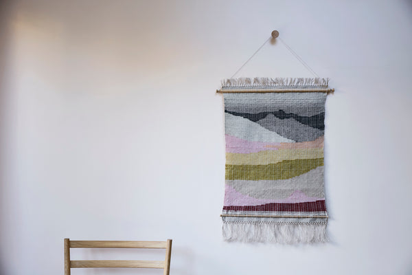Luachanna Wall Hanging by Mourne Textiles and Pinch