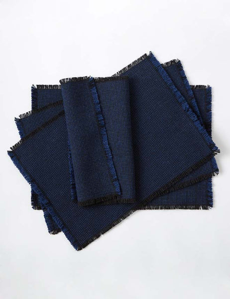 Set of 4 Placemats - Bilberry