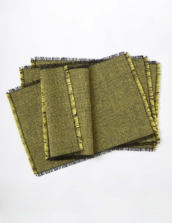 Set of 4 Placemats - Gorse