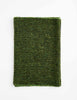 Tweed Emphasize Neck Warmer - Dark Green