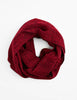 Tweed Emphasize Neck Warmer - Graphic Red