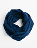 Tweed Emphasize Neck Warmer- Indigo