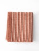 Maldwyn Stripe Blanket - Orange
