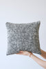 Mended Tweed Cushion - Monochrome  - IV