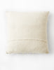 Shaggy Dog Cushion - Natural White