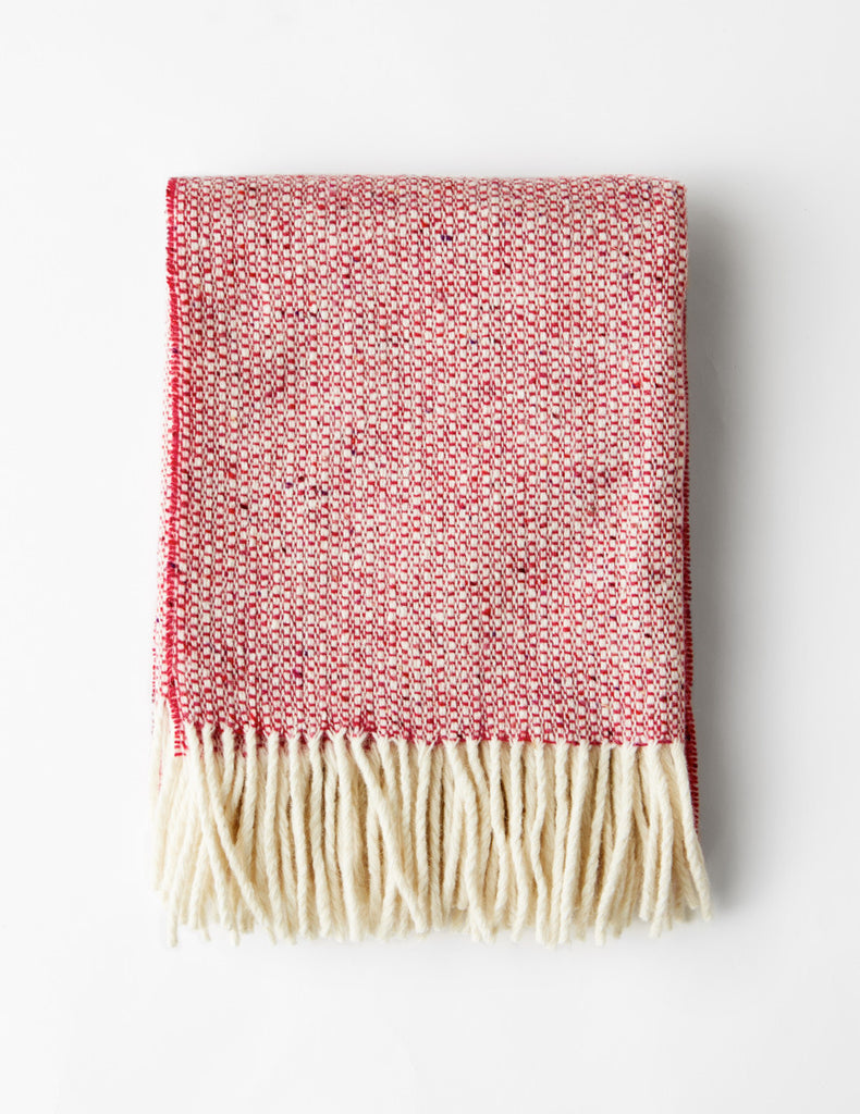 Childrens Blanket - Raspberry