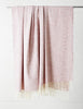 Tweed Emphasize Blanket - Dusty Rose