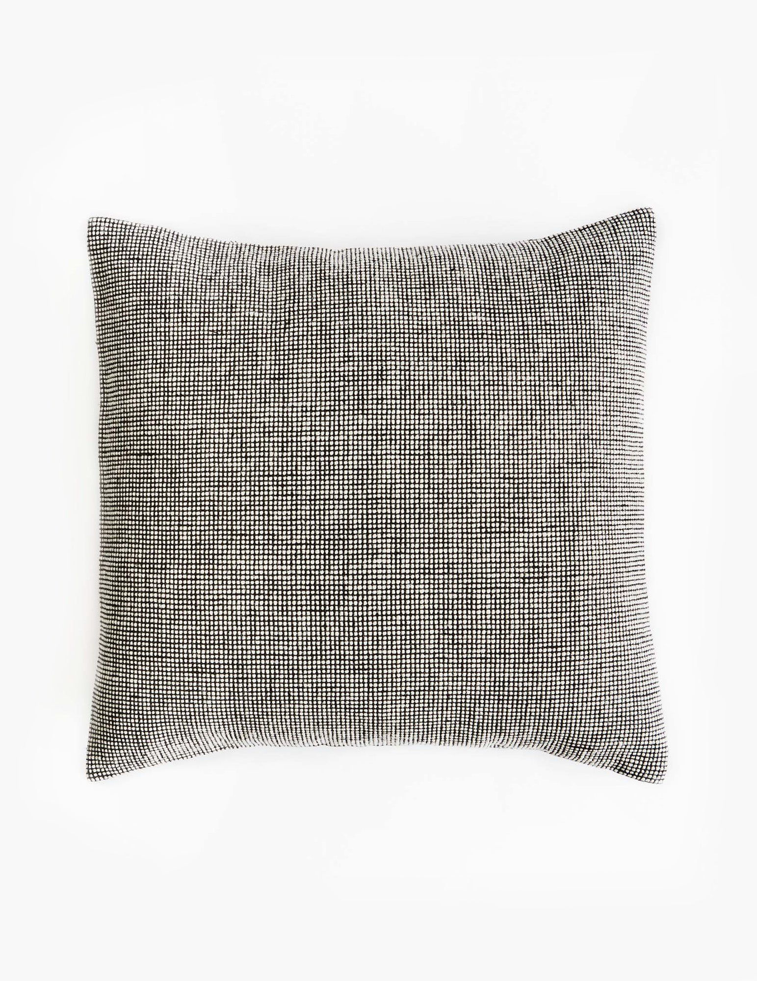 Mourne Check Cushion - Granite