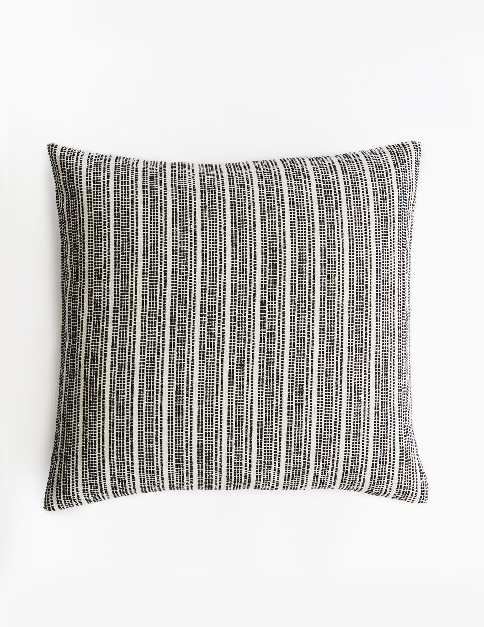 Mourne Stream Cushion - Black and White