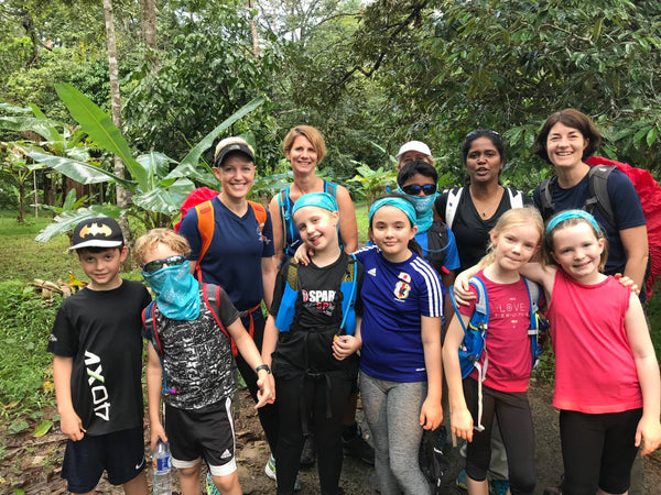 MOTHER AND KIDS TREK TO GUNUNG BENTAN,  BINTAN (23-24 June 2018)