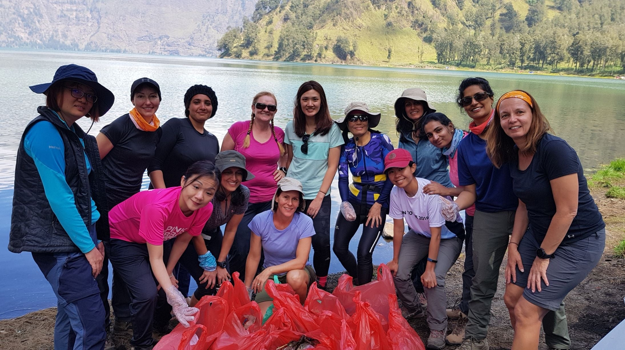 MOUNT RINJANI CLEAN UP 2018