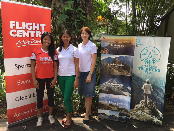 First collaborative trek with Flight Centre Active Travel Singapore (FCAT)