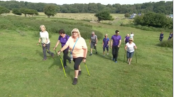 Nordic Walking UK featured on BBC Breakfast Show