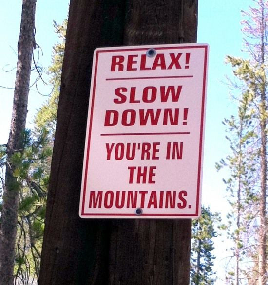 A Life Lesson Learnt... From the Mountains