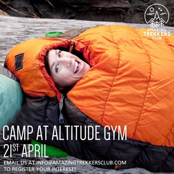 Camp at Altitude and be inspired by Chloe Chick's 3 Peaks 3 Weeks