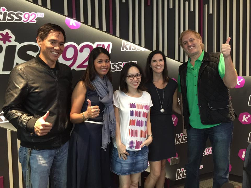 Interview at Kiss92 FM: Maddy, Jason & Arnold in The Morning