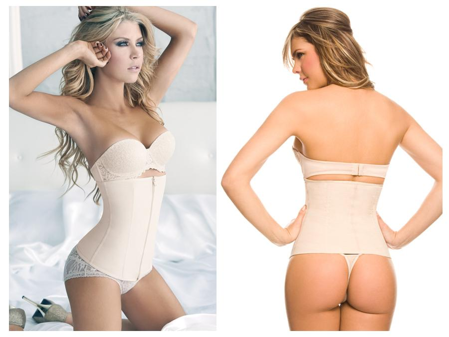 1024B Powernet Girdle with Zipper