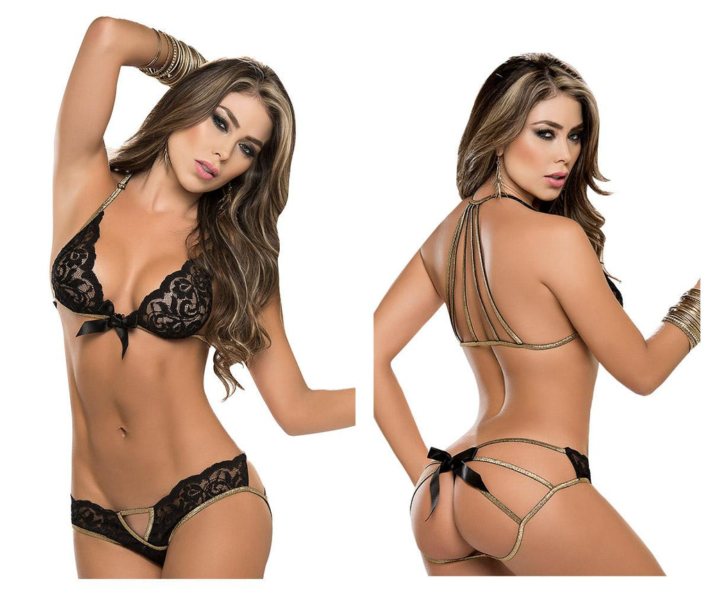 8134 Two Piece Lingerie Set